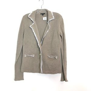 Eileen Fisher new with tags jacket classy unique S